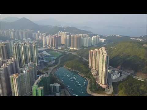 Dji mavic pro drone test flight video - Sai kung, TKO, Kowloon Bay Hong kong