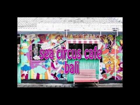 creative idea design concept of interior and exterior cafe by sea circus cafe bali