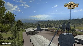 ETS 2: Realistic graphics modification of Frkn64 for all maps [1 27