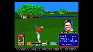 PGA Tour Golf II (Sega Genesis / Mega Drive) Intro