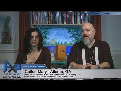 Atheist Experience #931 with Matt Dillahunty and Tracie Harris