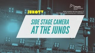 Side Stage Cam At The Junos