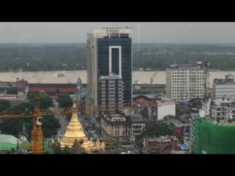 Yangon high views / Myanmar 05/07/16
