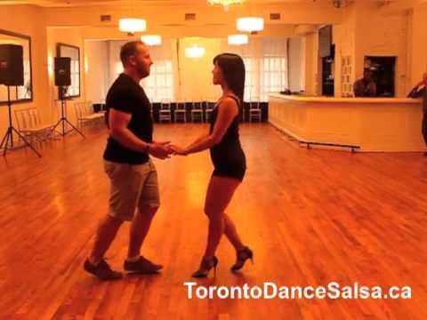 Toronto Dance Salsa Beginner Salsa Combination #46