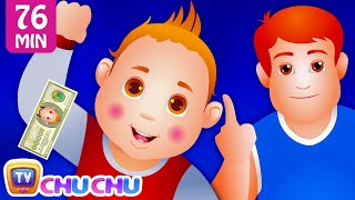 Gambar cover Johny Johny Yes Papa PART 3 and Many More Videos | Popular Nursery Rhymes Collection by ChuChu TV