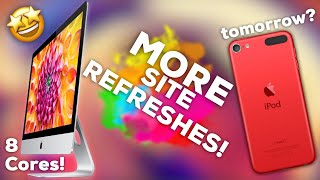NEW iMac & iMac Pro options launched / iPod refresh tomorrow?