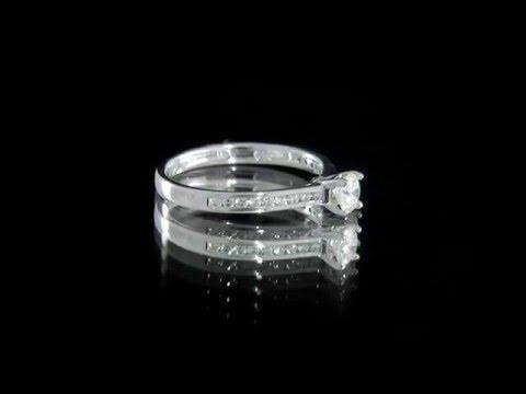 0.45 Carat Diamond Engagement Ring SD025