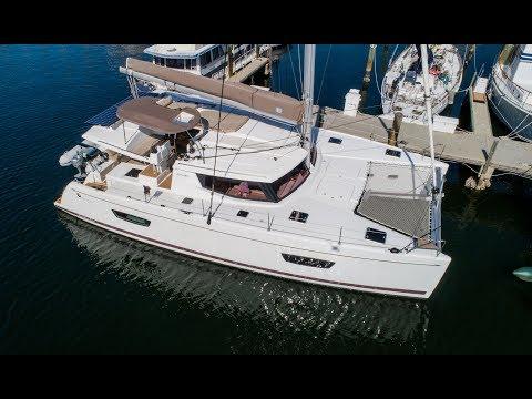 Fountaine Pajot Helia 44 Evolution 4K Catamaran Tour w/ Commentary