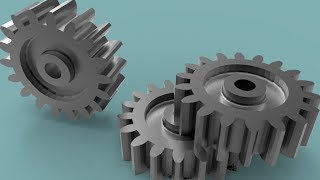 Creating 3D gear in AutoCAD