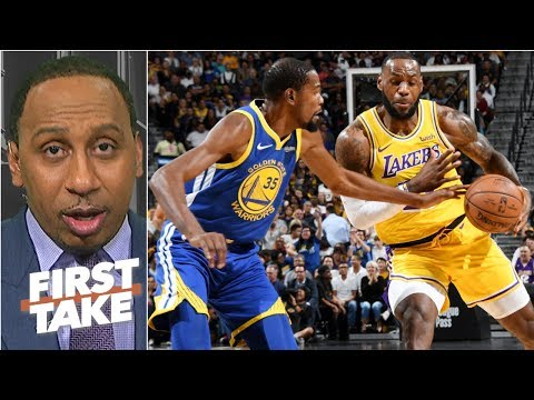 NBA stars want to beat LeBron, not play with him – Stephen A. | First Take