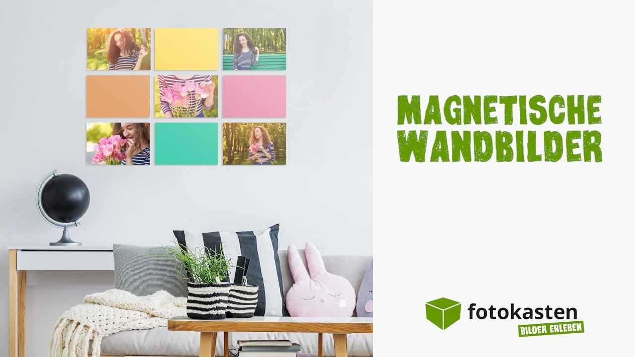 fotocollage erstellen 3 gr nde f r magnetische wandbilder youtube. Black Bedroom Furniture Sets. Home Design Ideas