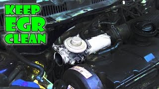 How to clean EGR and INTAKE manifold 1.9tdi