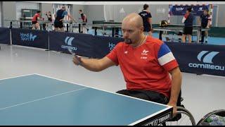 Inside avec l'Equipe de🇫🇷  de tennis de table  handisport - Champions d'Exception - Handisport TV