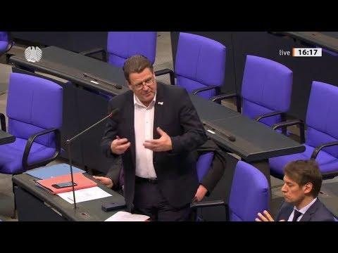 Stephan Brandner, AfD & Dr. Rainer Kraft, AfD stellen Fragen zu Entwicklungshilfe in Afrika. 4.3.20