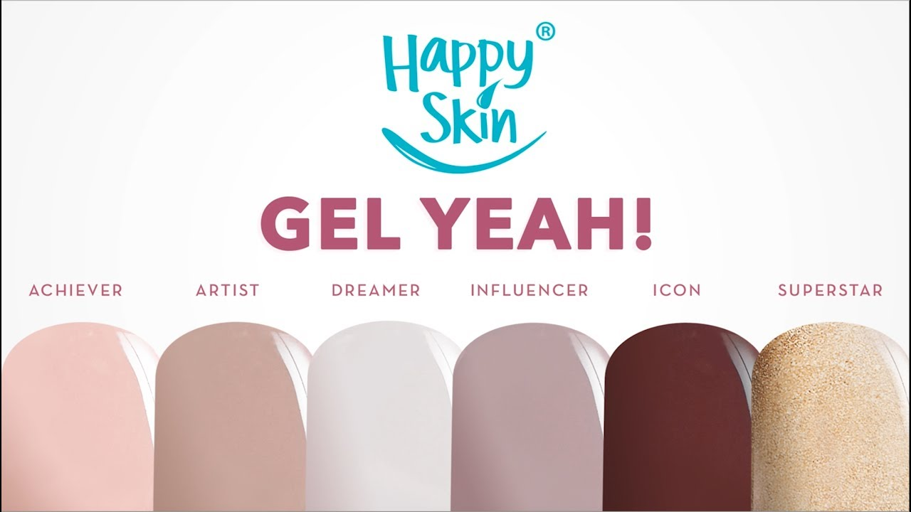 Get gel nails without UV light! | #HappySkinGelYeah - YouTube