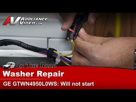 how to test a ge washer lid switch newer model 7 13 ge profile washer will not start