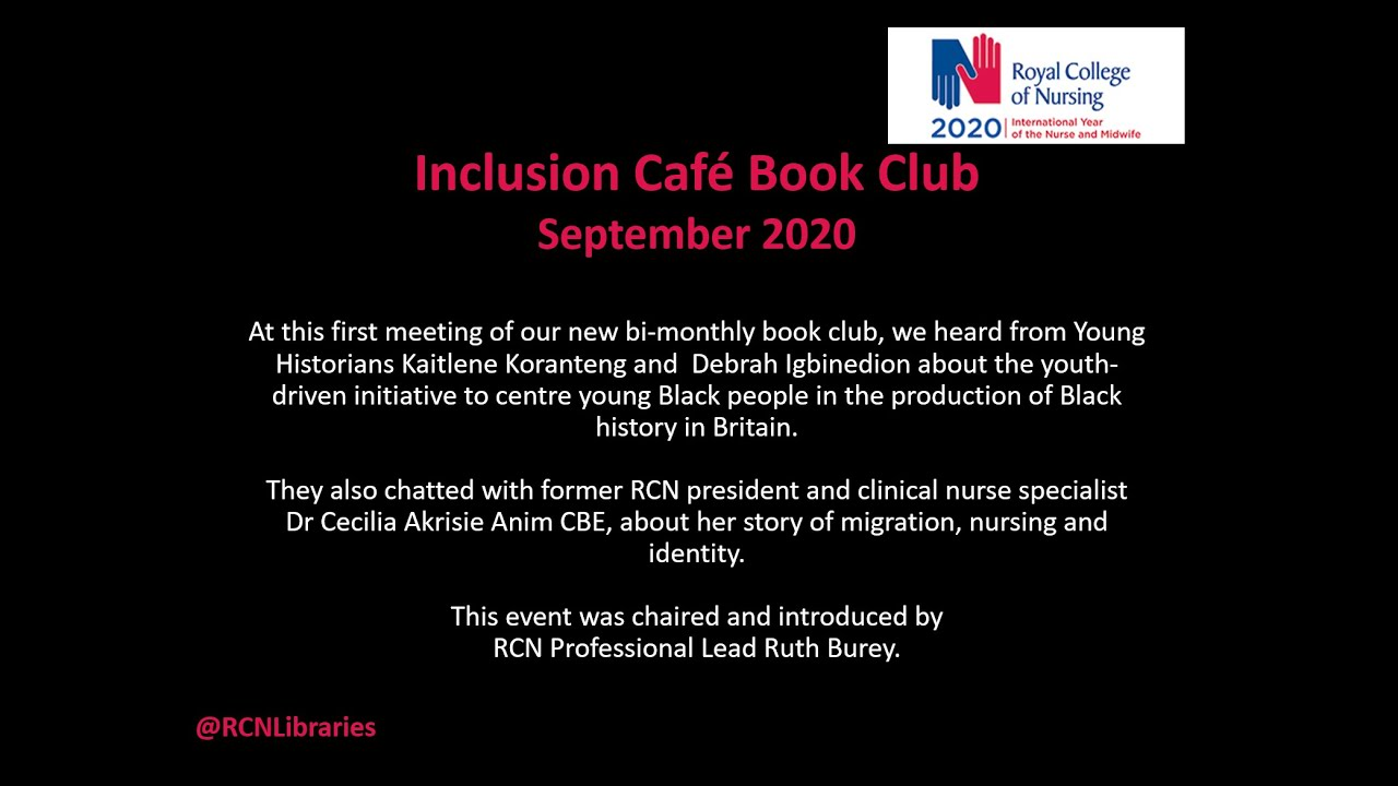 Previous Events Library Royal College Of Nursing