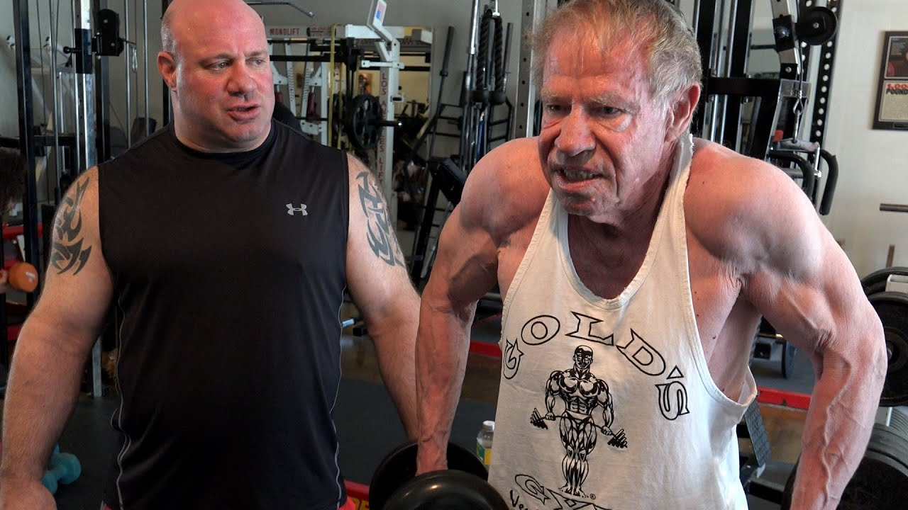 82 Year Old Jim Arrington's Workout Session with Scot
