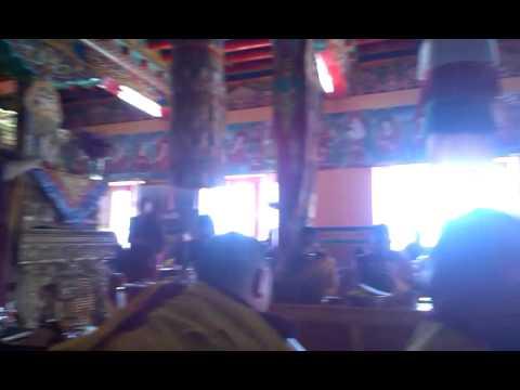 Karmapa at Matho gompa