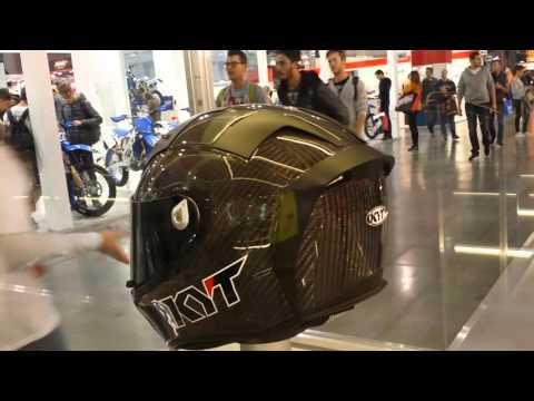 EICMA 2015 Milan Trip - KYT Thunderflash (Vlog 19)