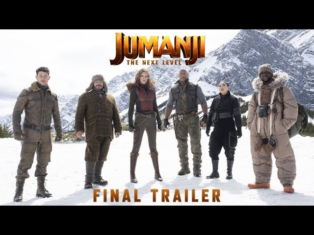 JUMANJI: THE NEXT LEVEL - Sista trailern - biopremiär 6 december