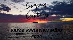 Camping Vrsar Kroatien März 2020