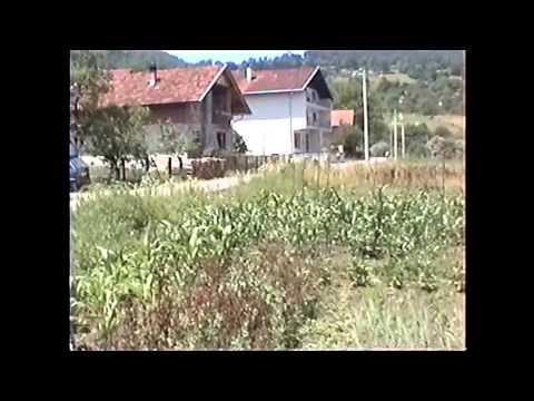 Zgon  vožnja kroz cijelo selo ljeto 2006 Ključ Bosna