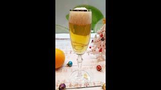 """Этим десертом вы поразите своих гостей.  Новогодний десерт. Желе """"Шампанское"""" из яблочного сока."""