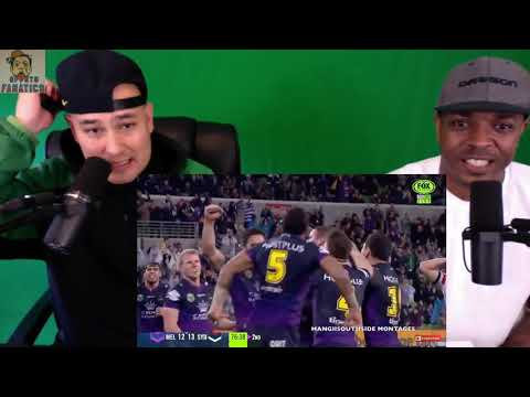 Cooper Cronk | The Orchestrator 2017 | Reaction