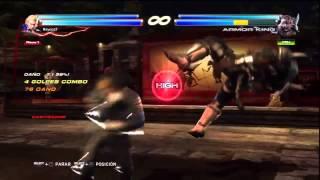 Tekken Tag Tournament 2 Steve combo video