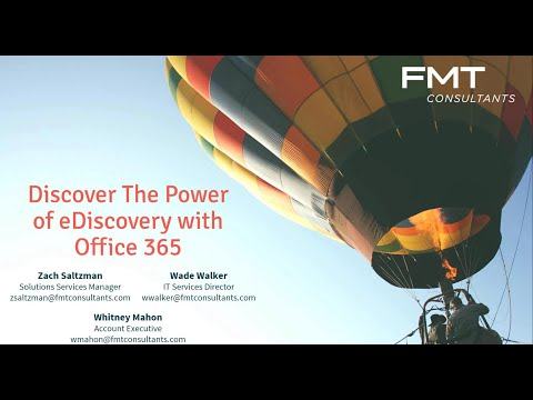 eDiscovery in Office 365 - Cost Efficient Due Diligence