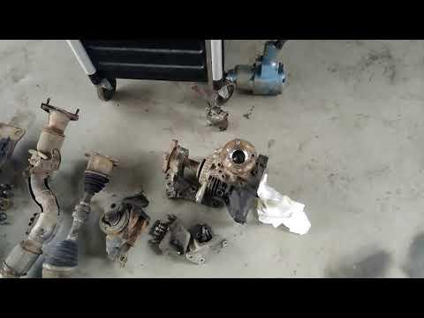 Nissan x- trail снятие коробки передач. Замена сцепления.