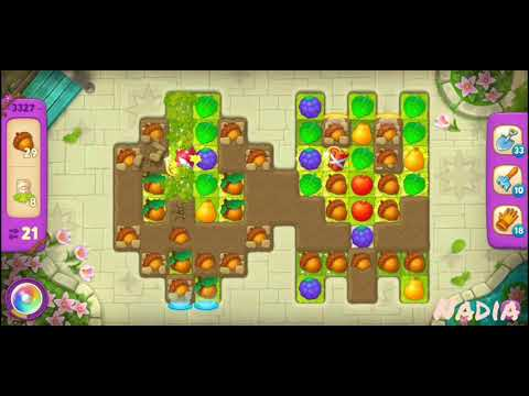 Gardenscapes Level 3327.
