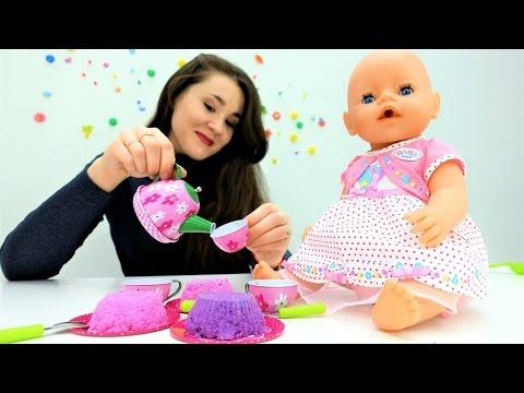 #Одевалки и пупсы #Беби Бон: Беби Эмили ждет гостей. Игры для девочек и куколки