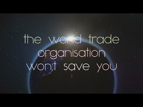 The World Trade Organisation Won't Save You