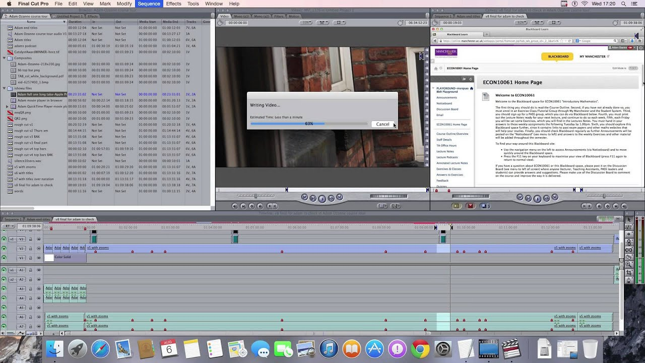 Running final cut pro on a pc with windows geniusdv training.