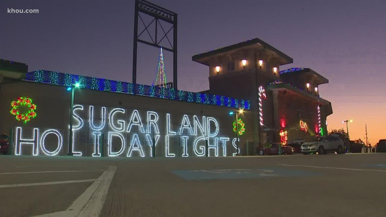 Sugar Land Holiday Lights open with COVID-19 restrictions