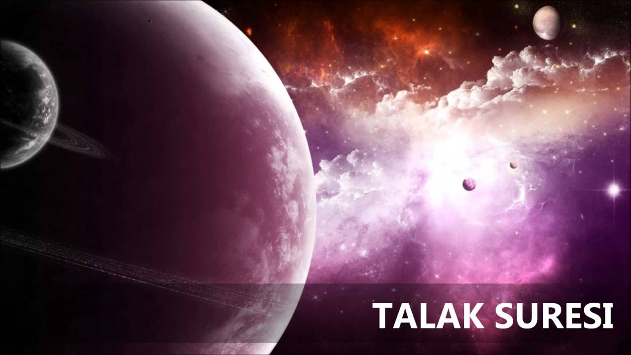 Talak Suresi Türkçe Meali