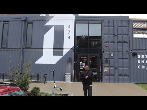 A Restaurant Made Of Shipping Containers | Detroit Shipping Co. | MAM Eating Show | Pt. 1