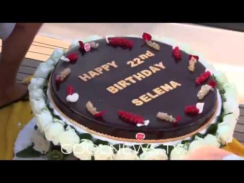 Selena Gomez Birthday Cake Youtube