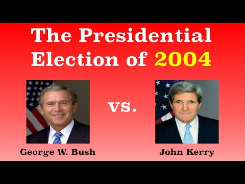 The American Presidential Election of 2004