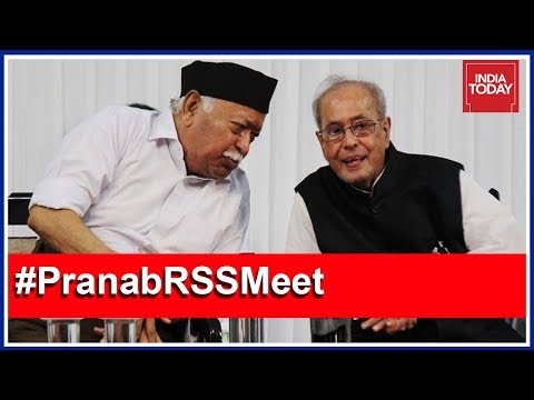India Today Live Coverage From RSS Event Attended By Pranab Mukherjee