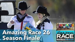 Amazing Race 26 Finale Recap LIVE | Friday, May 15, 2015