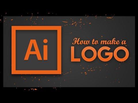 Logo Tutorial - Adobe Illustrator CC | How to make a logo in Illustrator 2017