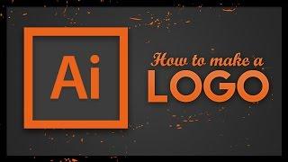 Logo Tutorial - Adobe Illustrator CC   How to make a logo in Illustrator 2017