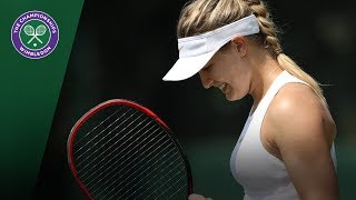 Eugenie Bouchard secures her spot in the Wimbledon main draw