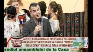 Rodica Mitran si Danut Dinca lansare album Etno Tv