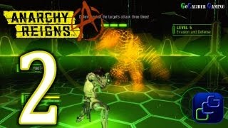 Anarchy Reigns Walkthrough - Part 2 - White Side - Virtual Training Room Tutorial