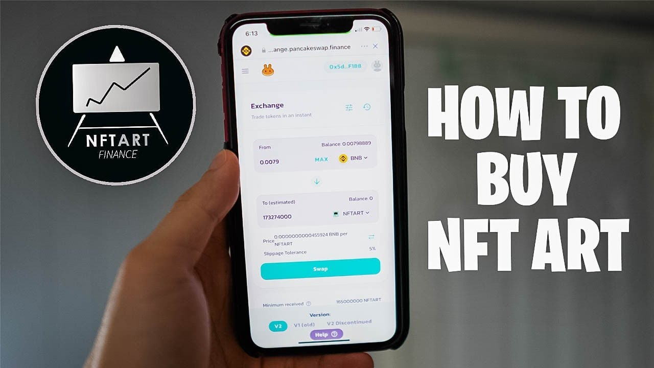 How to Buy NFT Art Finance Token - The EASIEST METHOD! DO NOT MISS!!! JUST IN 4 MINUTES