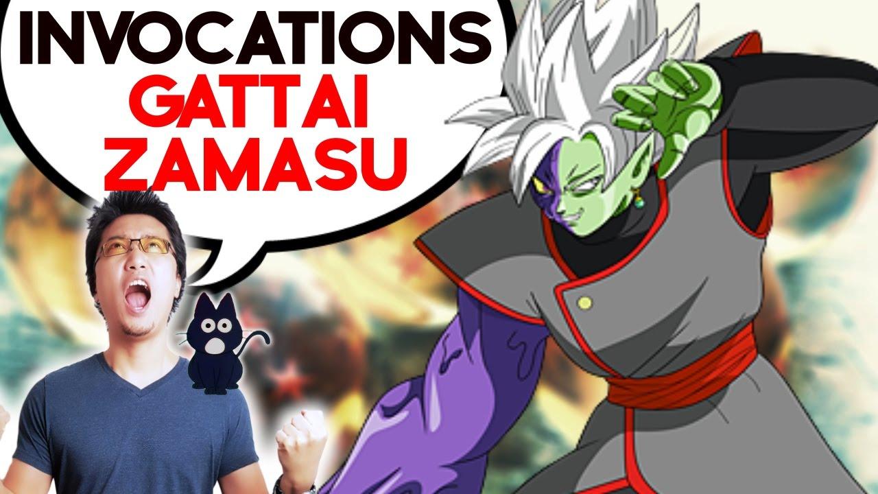 DBZ DOKKAN BATTLE - Invocations Gattai Zamasu !
